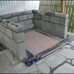 Lower oven support walls