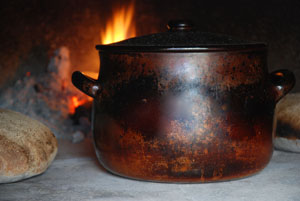 The bean pot