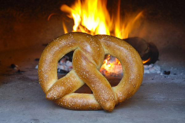 woodfired pretzel