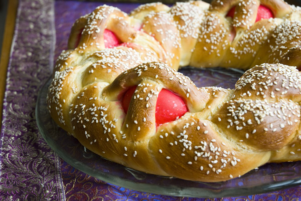 Sortachef's Greek Easter Bread