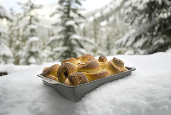 Cascade Cabin Cinnamon Rolls