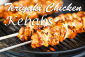 Tender Teriyaki Chicken Kebabs