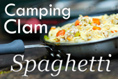 Camping Clam Spaghetti