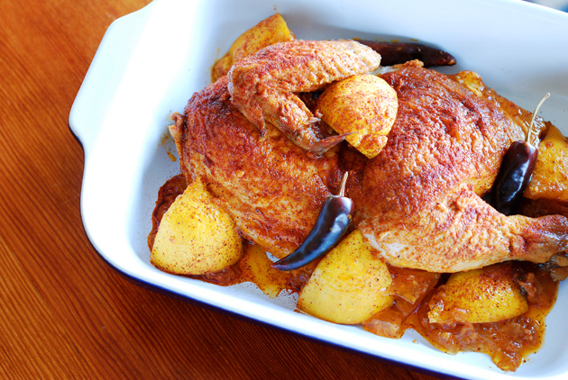 Peri Peri African Chicken Recipe — Dishmaps
