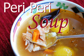 Peri Peri Chicken Soup