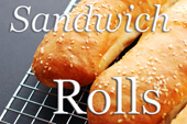 Sesame Seeded Sandwich Rolls