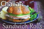 Challah Sandwich Rolls